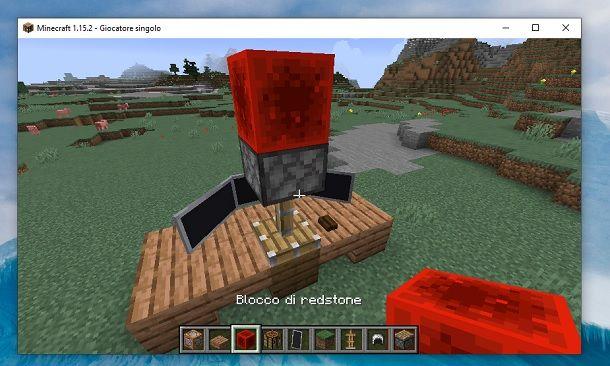 Spingi verso il basso Minecraft