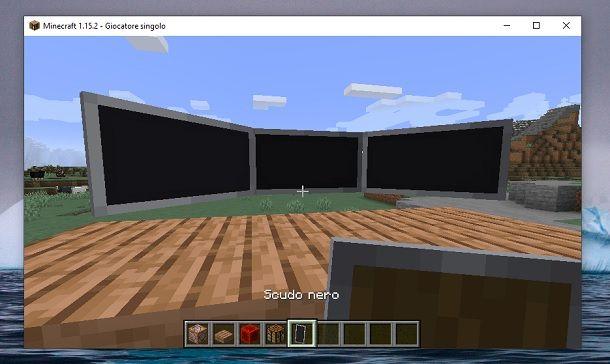 Triplo monitor Minecraft