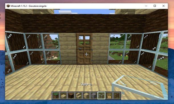 Porte lati Minecraft