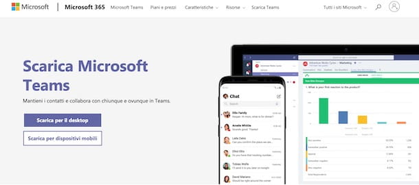 Come scaricare Microsoft Teams su PC Windows