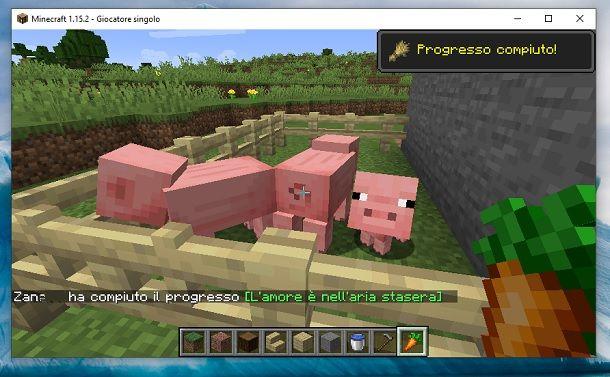 Maialino Minecraft