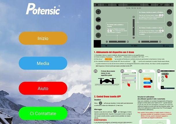 L'app di Potensic