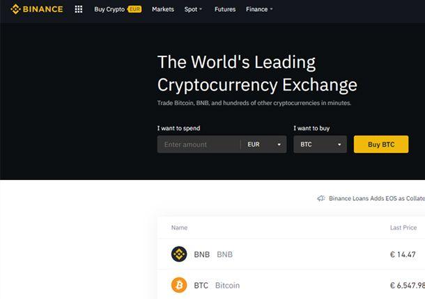 Servizi alternativi a Coinbase