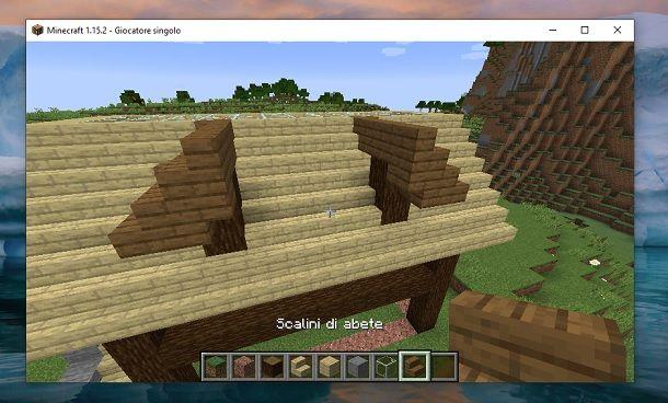 Struttura alto Minecraft