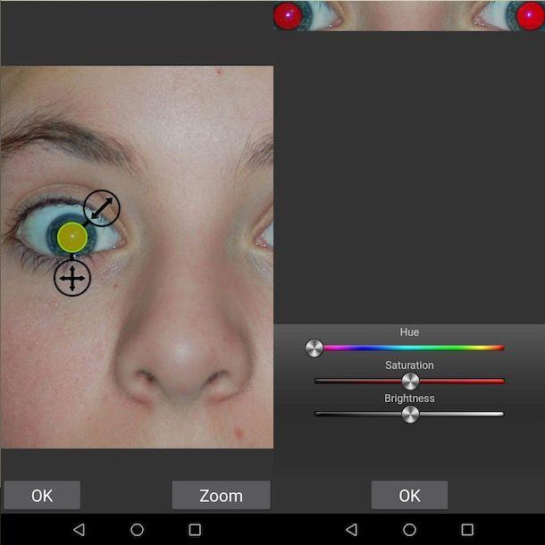 Cambia Colori Degli Occhi