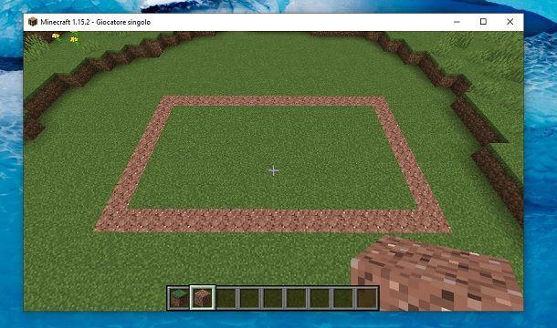 Terreno libero Minecraft