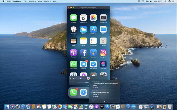 Come duplicare schermo iPhone su Mac