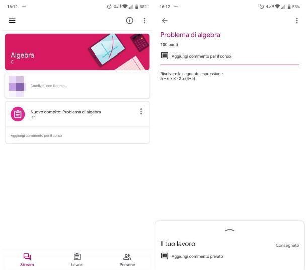 Come attivare Google Classroom su smartphone e tablet