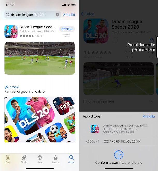 Come scaricare Dream League Soccer su iPhone