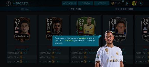 Tutorial mercato livello 10 FIFA Mobile