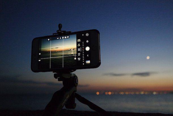 Controlli manuali fotocamera iPhone