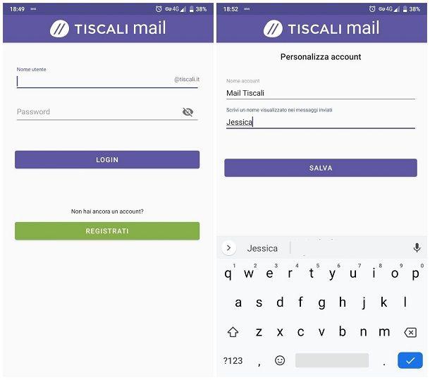Come leggere le mail di Tiscali su smartphone e tablet