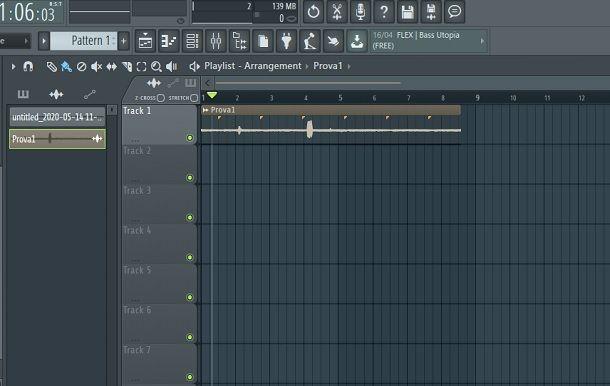 Traccia FL Studio