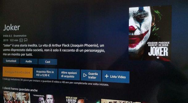 Noleggia Acquista Amazon Prime Video PS4