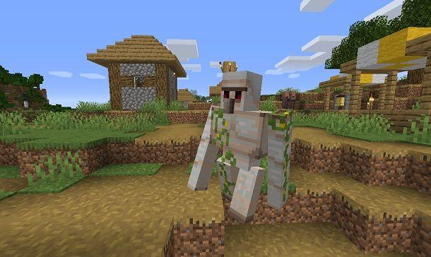Golem su Minecraft