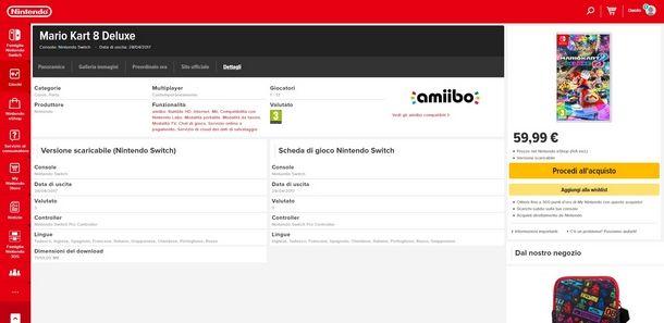Scoprire le funzionalità multiplayer dei giochi Switch