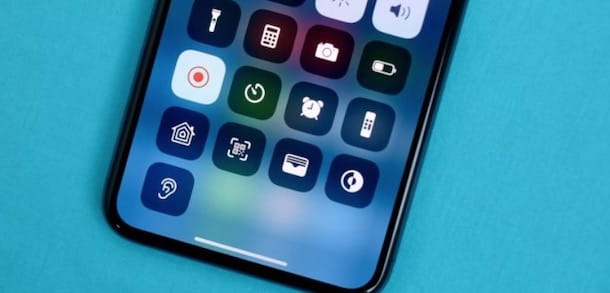 Registra schermo iPhone