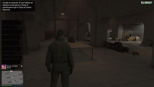 Sala giochi GTA Online