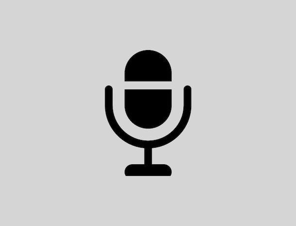 Icona microfono