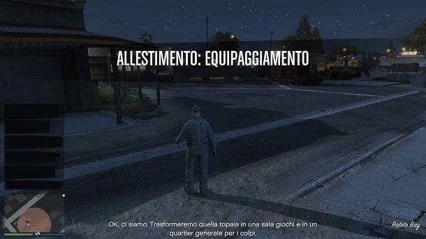 Missioni preliminari colpi GTA Online