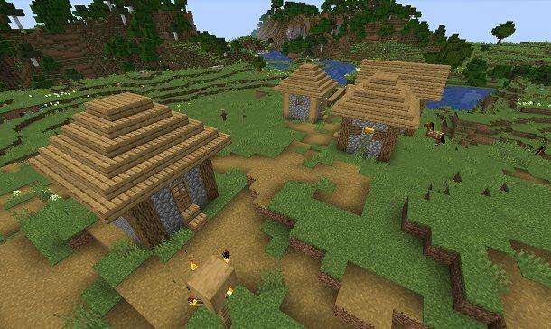 Villaggio su Minecraft