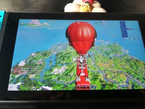 Avviare una partita online con Nintendo Switch