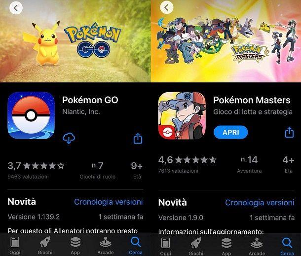 Giochi Pokemon iPhone