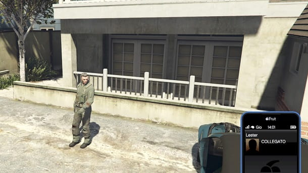 Chiamata Lester GTA Online