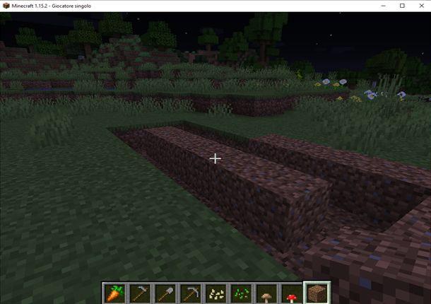 Prepara il terreno per il grano
