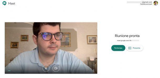 Google Meet desktop