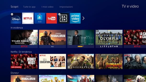 Procedura di download alternativa di Netflix PS4