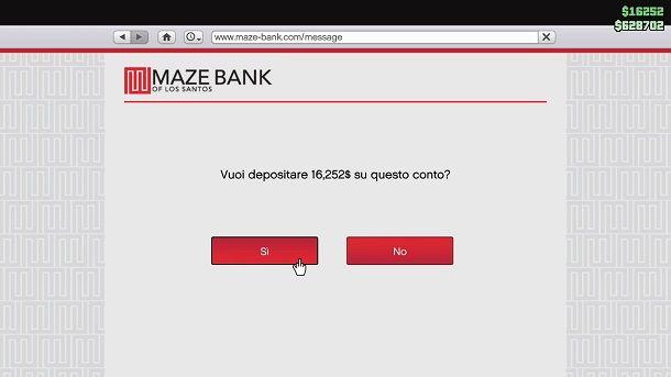 Deposita GTA Online