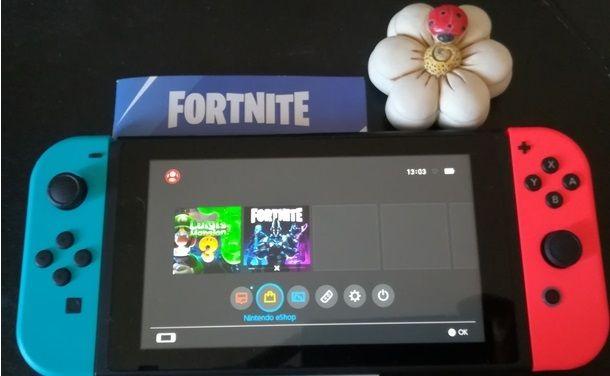 Giocare online a Fortnite con Nintendo Switch