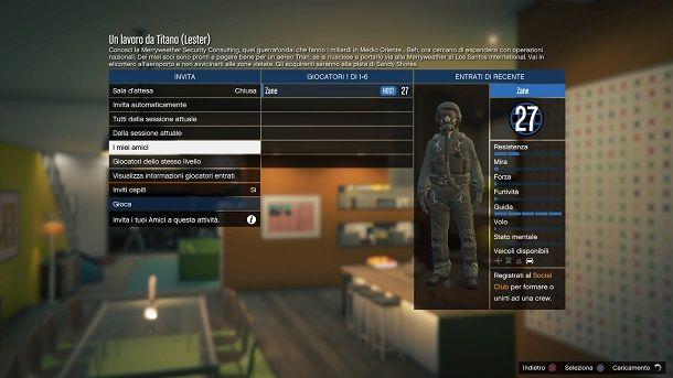 Come fare le missioni di GTA 5 Online con gli amici