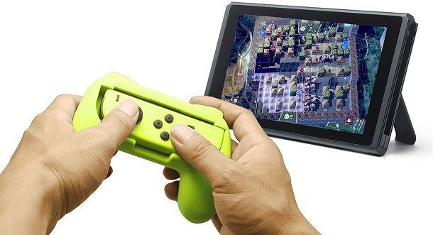 Kit impugnature JoyCon Nintendo Switch