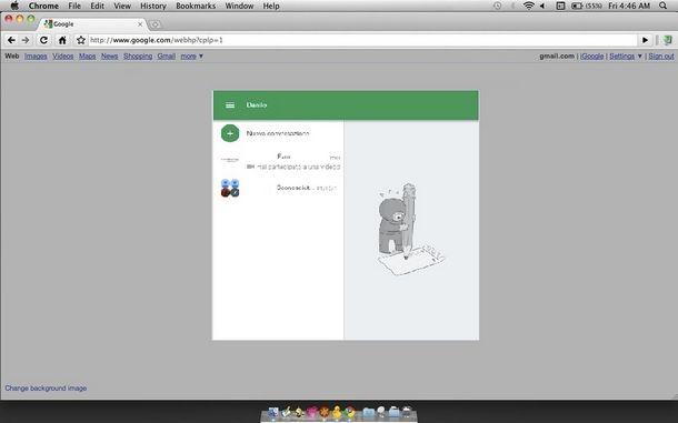 Installazione e uso di Google Hangouts su Mac