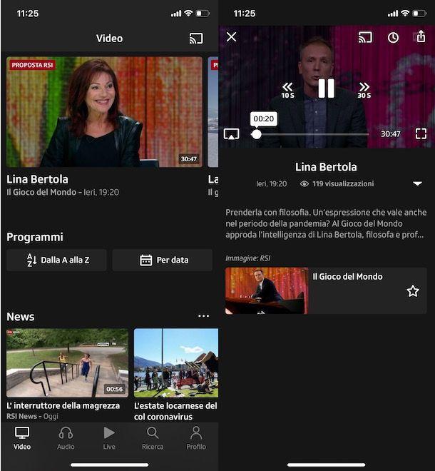 Come vedere Play RSI da smartphone e tablet
