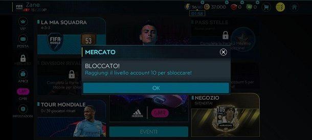 Mercato FIFA Mobile