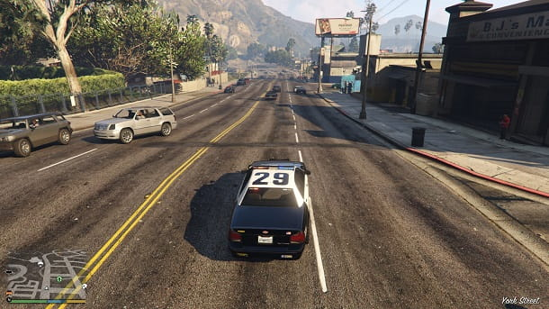 GTA 5 Polizia