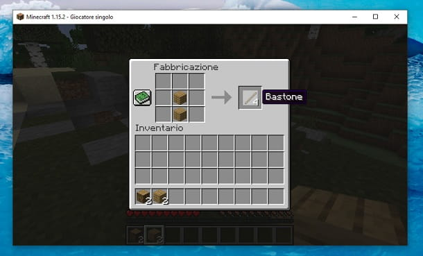 Bastone Minecraft