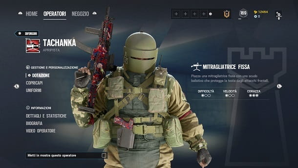 Tachanka Rainbow Six Siege PS4