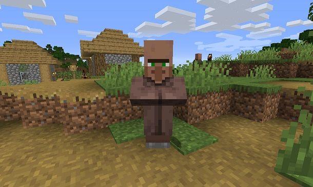 Villico su Minecraft