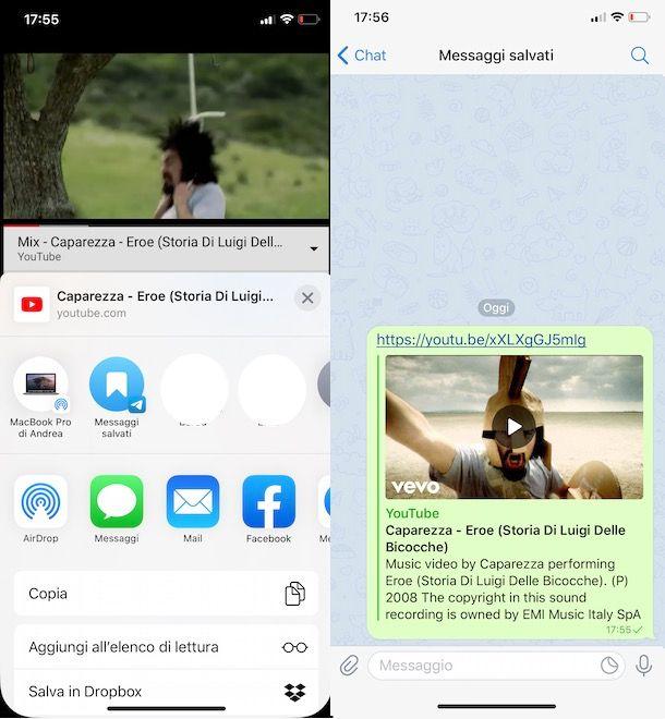 Come sentire musica su Telegram