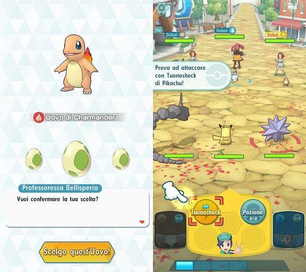 Prima battaglia Pokemon Masters