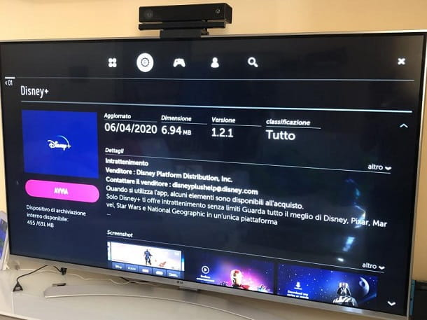 Disney+ app Smart TV