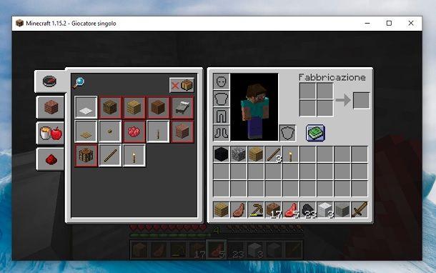 Ricettario Minecraft