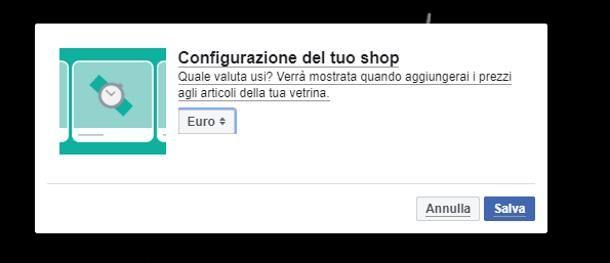 Come attivare Facebook Shops