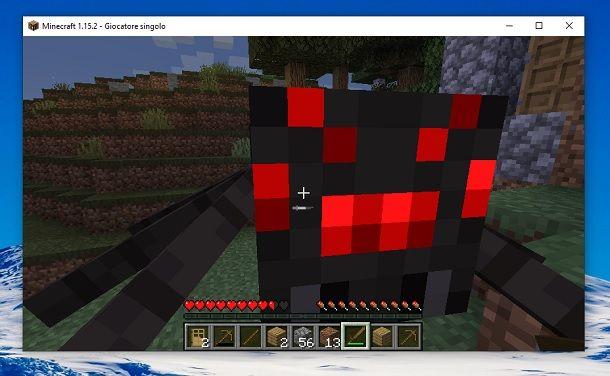 Ragno Minecraft