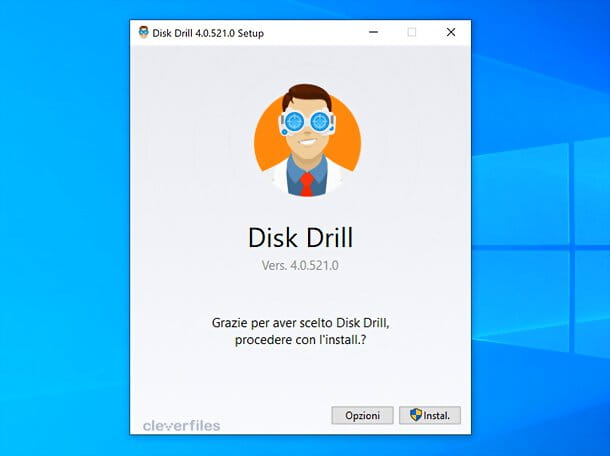 Installazione Disk Drill Windows
