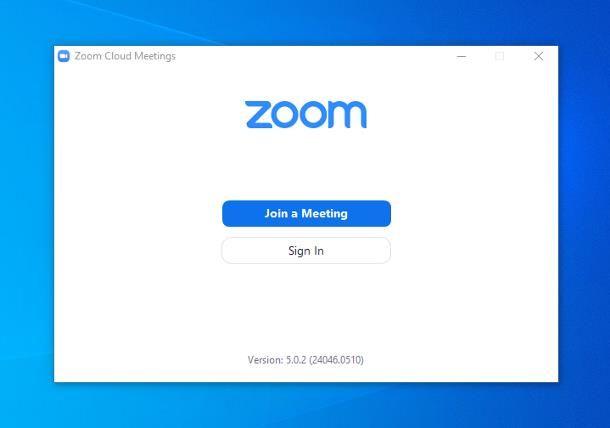 Come accedere a Zoom con codice